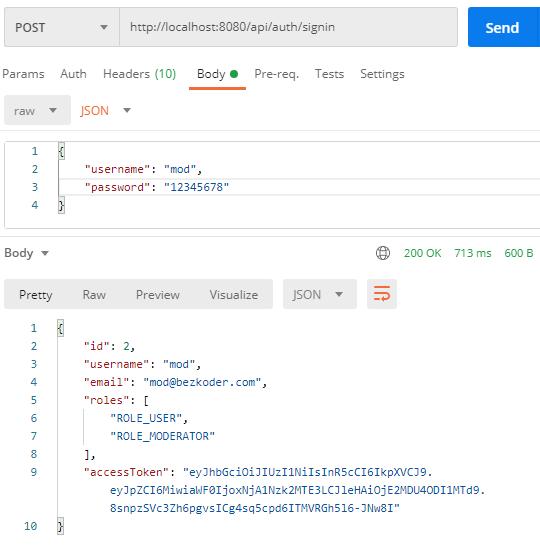 node-js-jwt-authentication-postgresql-example-login-user-successful