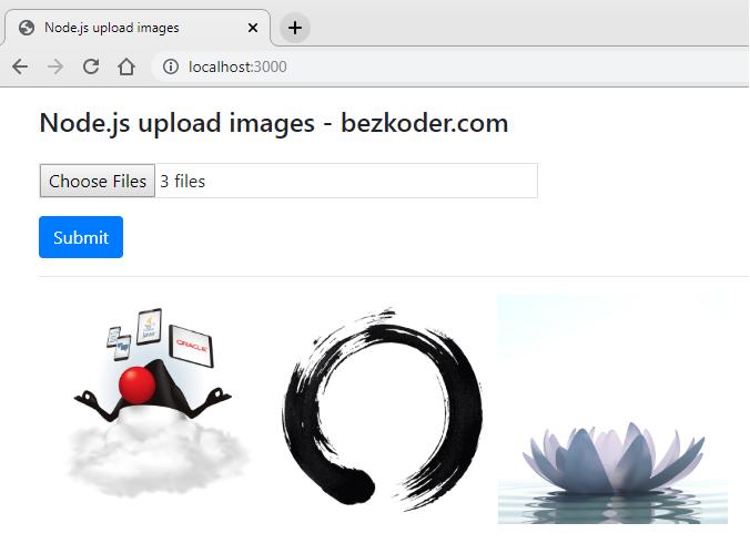 node-js-upload-store-images-mongodb-demo-multiple-images