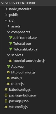 vue-node-express-postgresql-example-vue-client-project-structure
