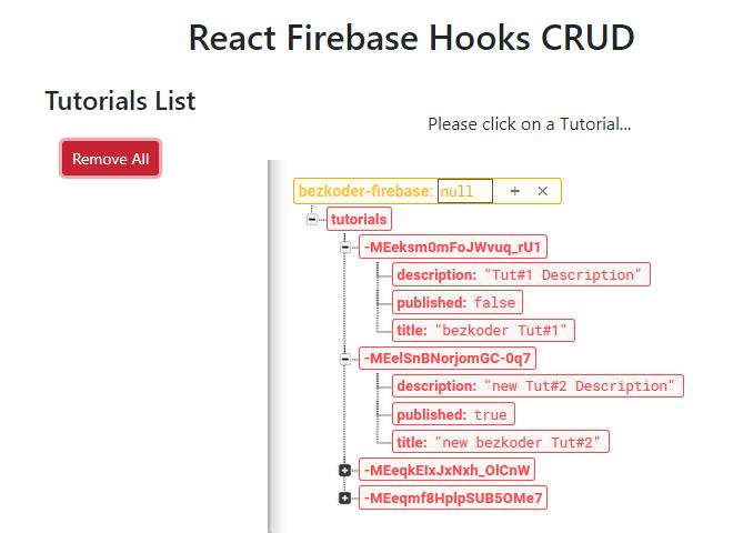 react-firebase-hooks-crud-realtime-database-delete-all
