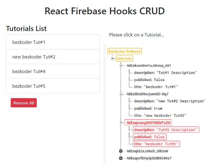react-firebase-hooks-crud-realtime-database-delete
