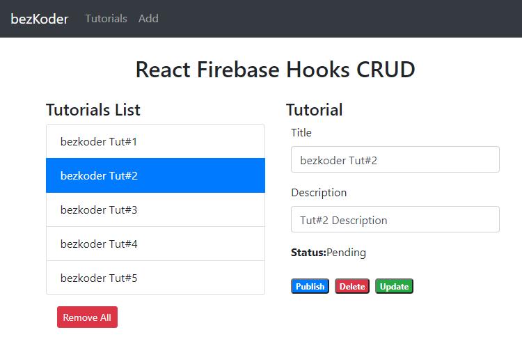 react-firebase-hooks-crud-realtime-database-retrieve-all