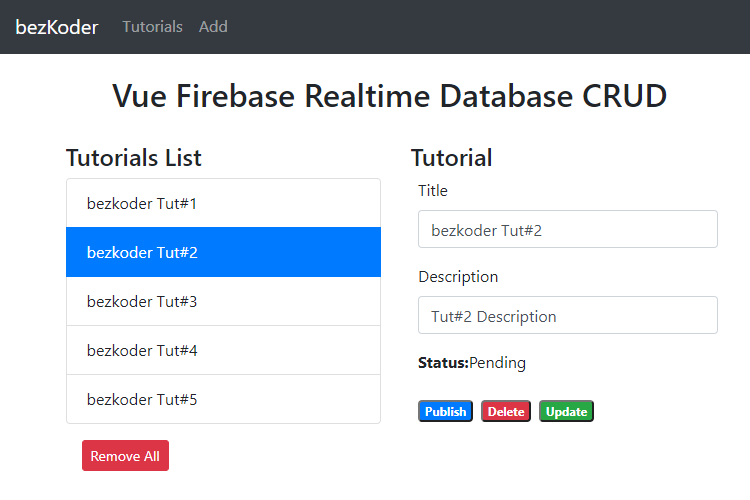 vue-firebase-crud-realtime-database-retrieve-all