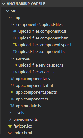 angular-8-node-js-file-upload-example-express-client-project-structure