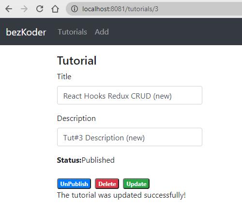react-hooks-redux-crud-example-update-tutorial