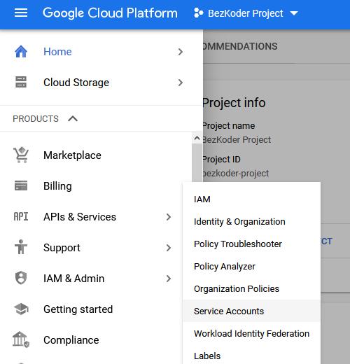 google-cloud-storage-get-credentials-json-service-account-select