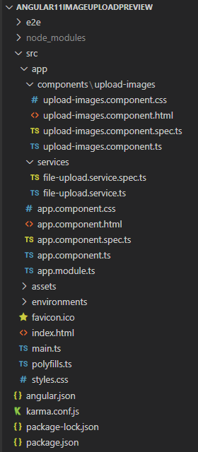 angular-11-multiple-image-upload-preview-example-project-structure